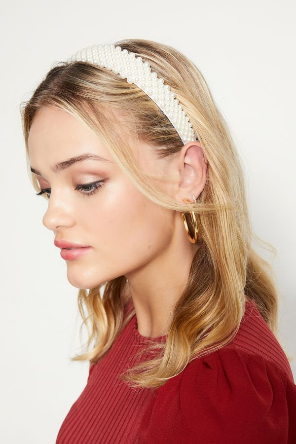 PEARL EMBELLISHED HEADBAND (324410)