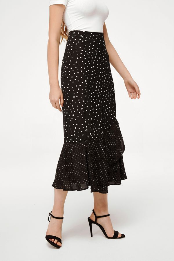 SAVANNA SPOTTED SKIRT (324449)
