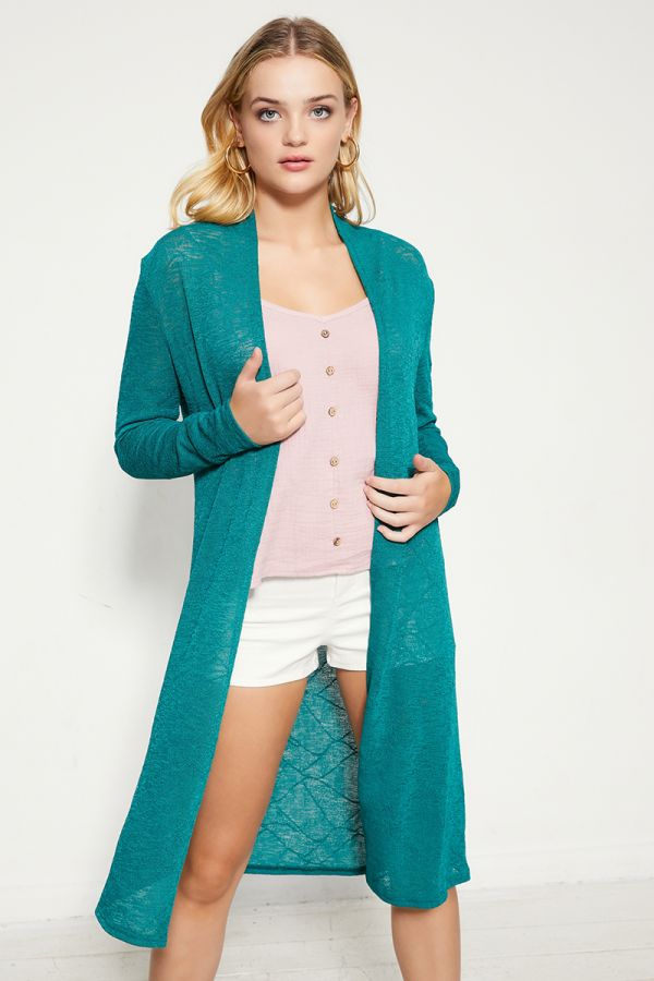 BASIC LONG CARDIGAN  (324523)