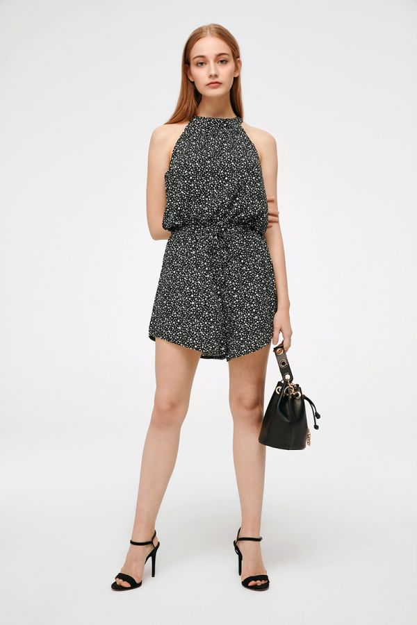 BREANNE OPEN BACK PLAYSUIT (324698)