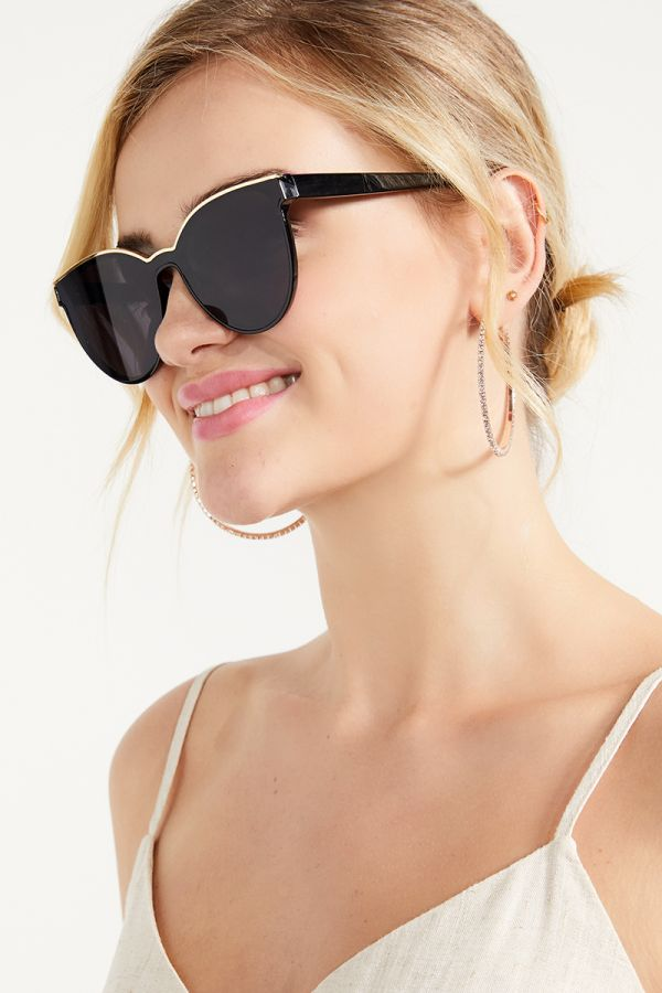 GLAM GOLD EDGE SUNGLASSES (324835)