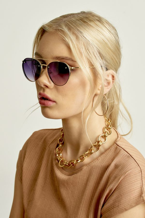 PERFECT AVIATOR SUNGLASSES (324842)