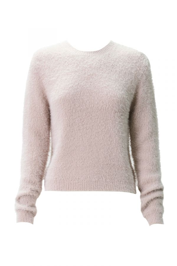 ANGORA LIKE KNIT TOP (324876)