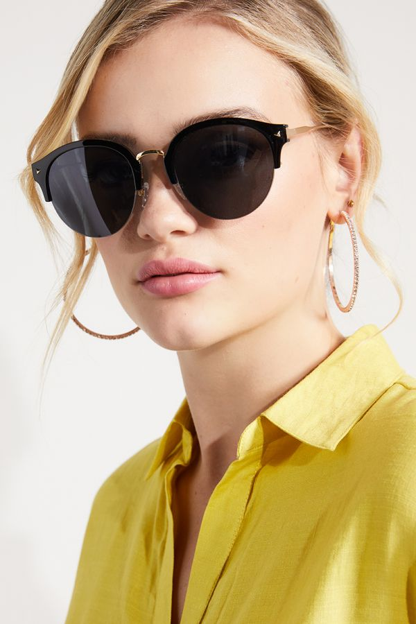 SEMI RIMLESS SUNGLASSES (324933)