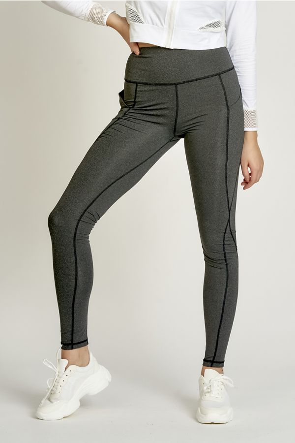 SEAM STITCH PANEL LEGGINGS (325077)