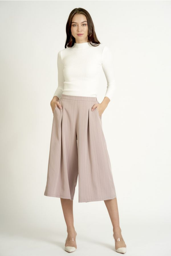 STRIPE SKIRTS LIKE WIDE PANTS (325223)
