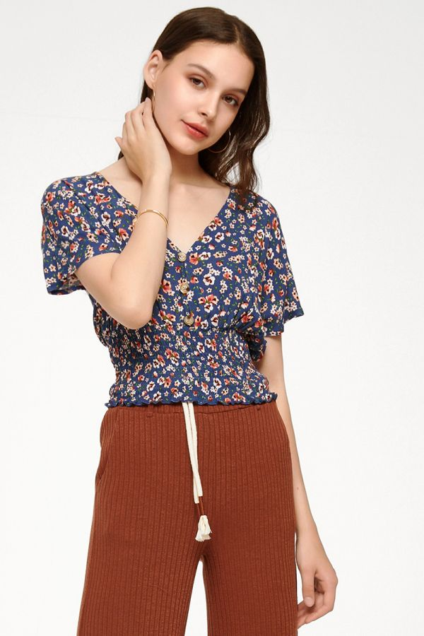 WILLOW SHIRRED TOP (325225)