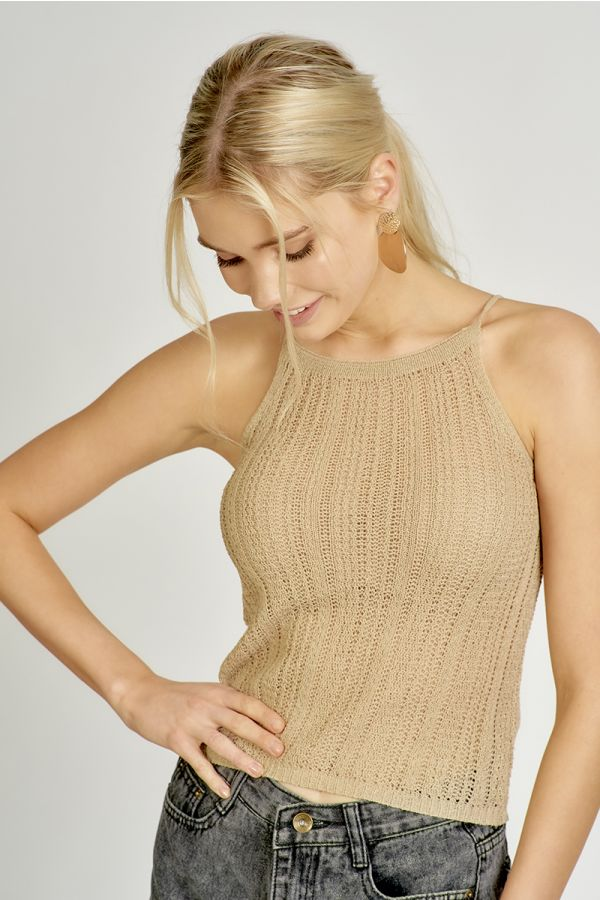 CAMI KNIT TOP (325261)