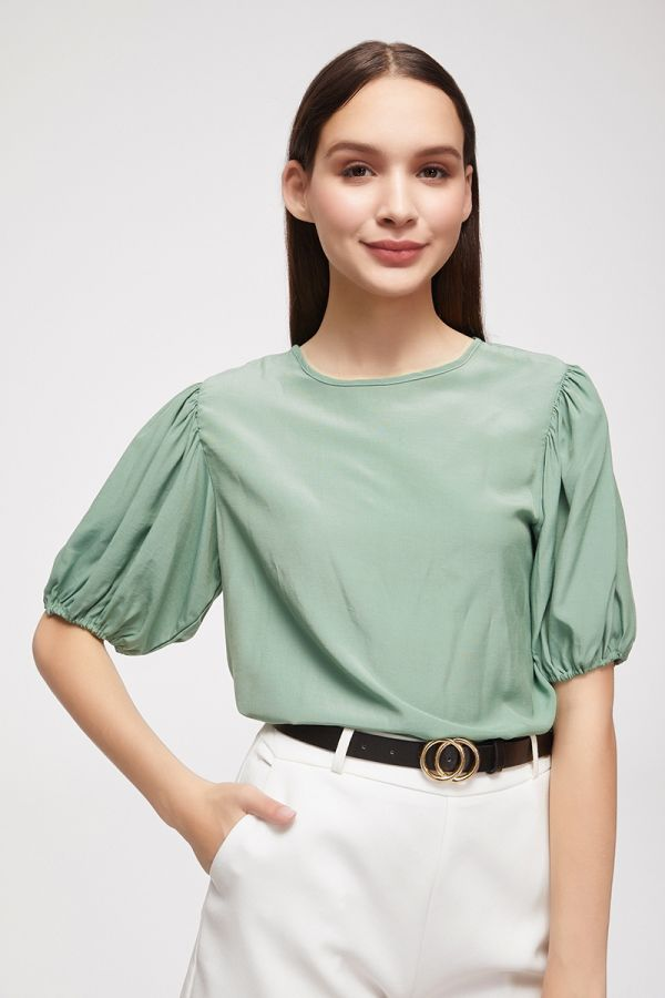 VOLUME SLEEVE TOP (325334)