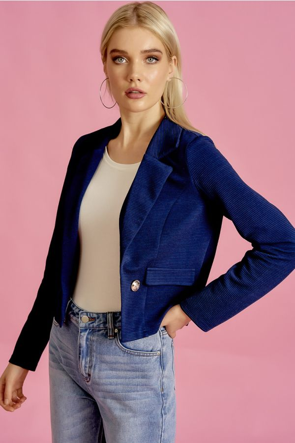 TAILORED JERSEY JACKET (325668)