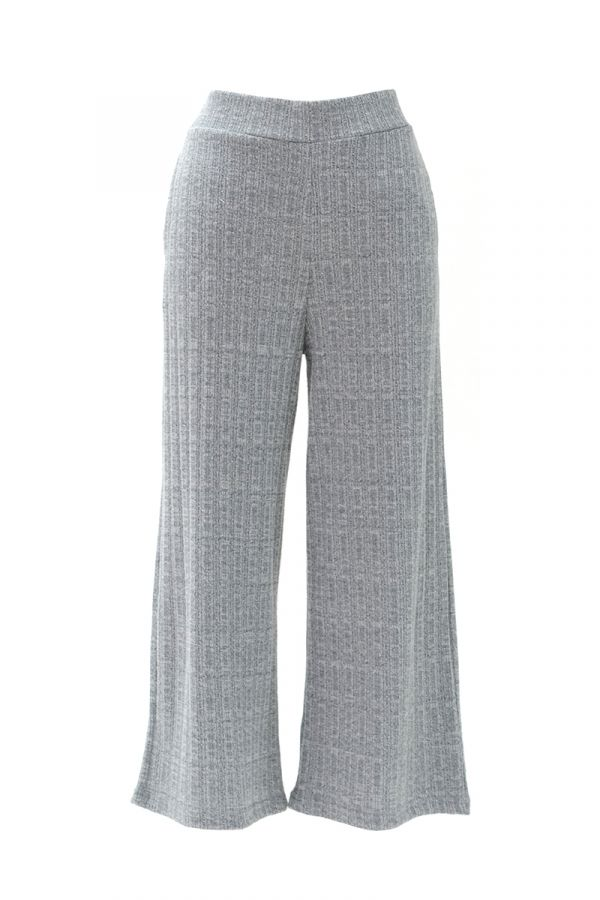 KNIT WIDE PANTS (326001)
