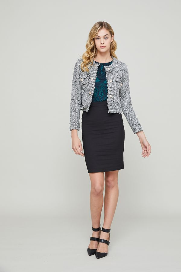 SOFIA TWEED JACKET