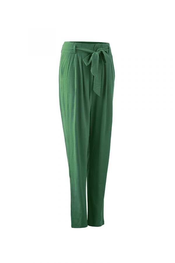 DOMINIQUE TIE TAPERED PANT