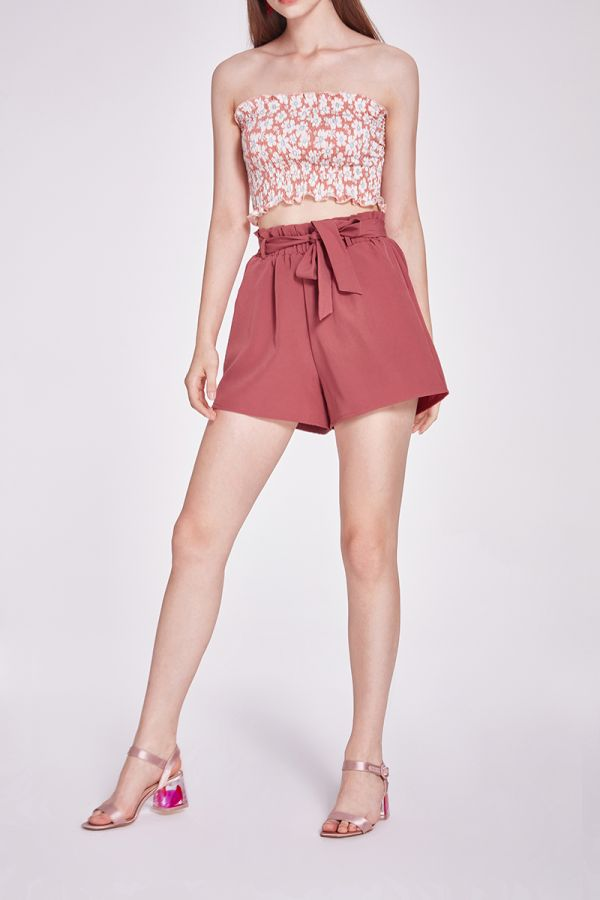 VERITY TIE TOP SHORT