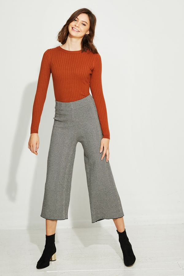 NELLY WIDE LEG PANTS