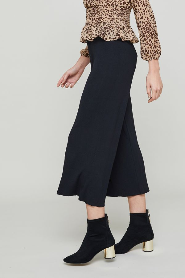 LEOPARD WAIST BAND PANTS