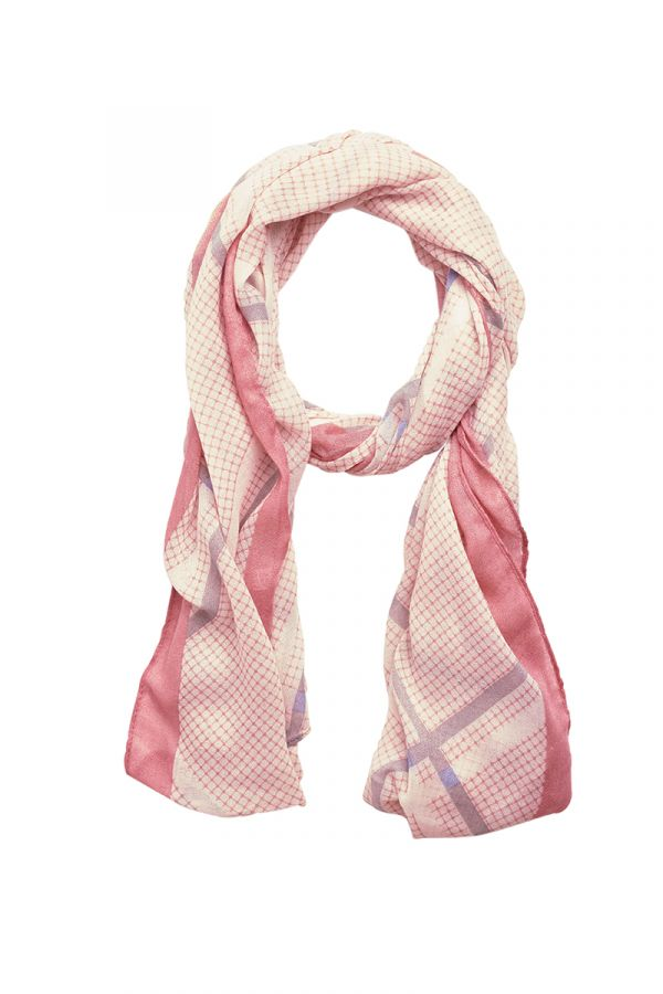 Orchid pink lightweight scarf