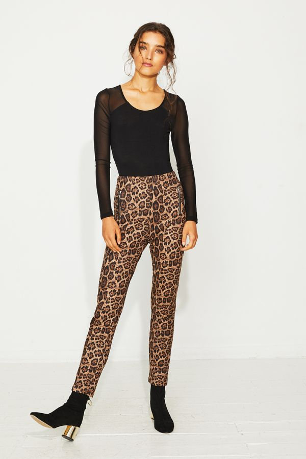 ZENA LEOPARD PEGGINGS