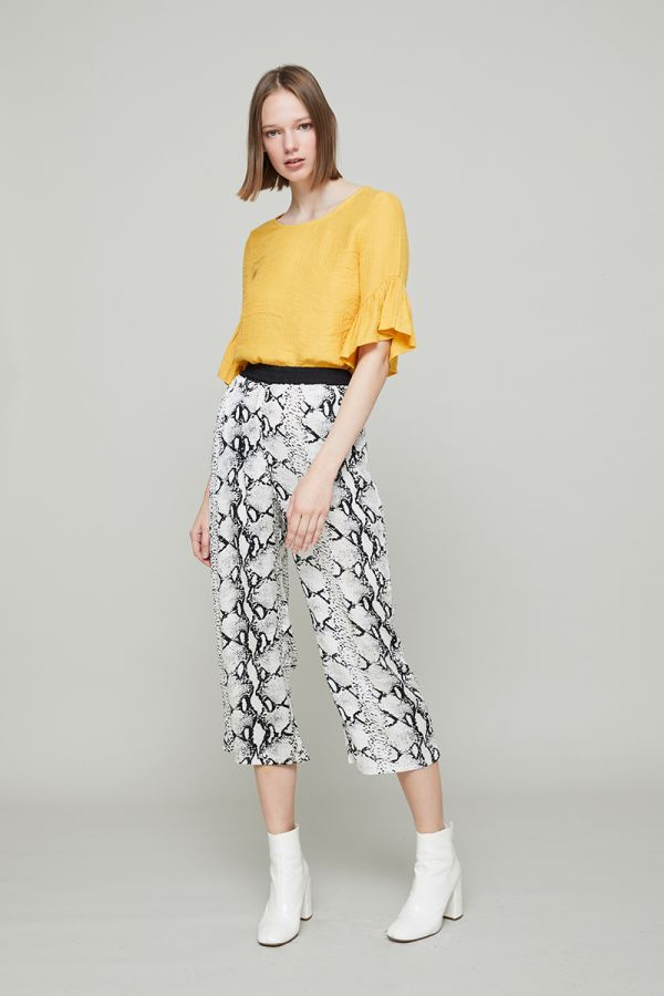 SNAKE SOFT TROUSERS