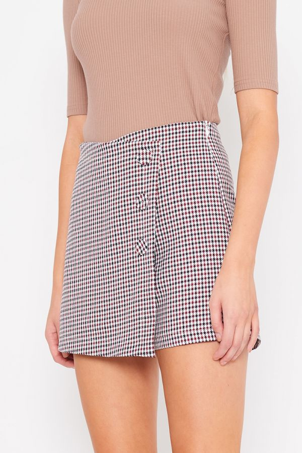 PEGGY CHECK SHORTS