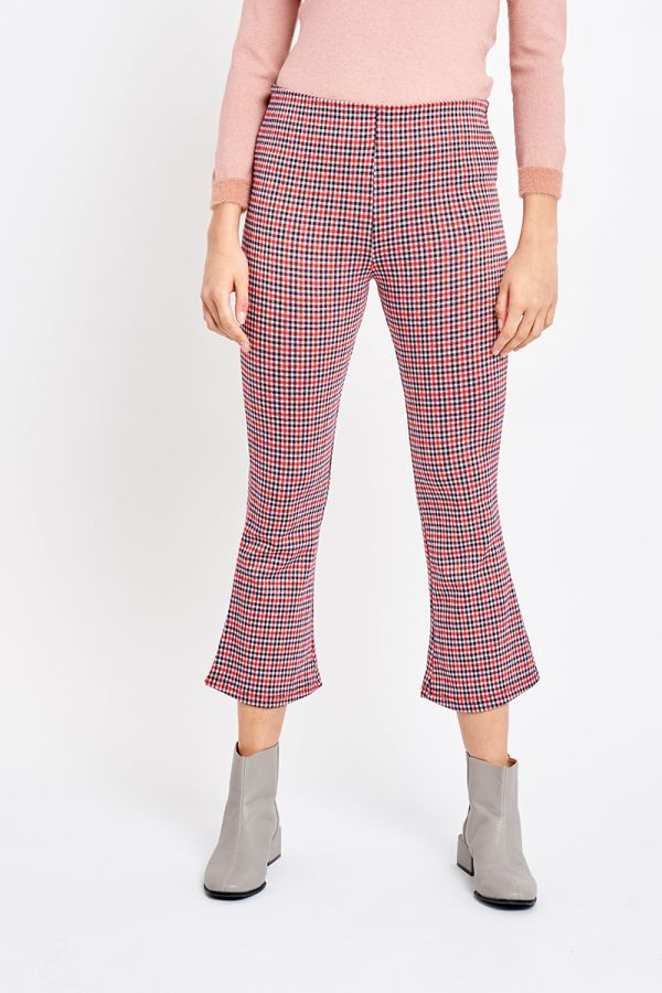 ELIZABETH CHECK PANTS