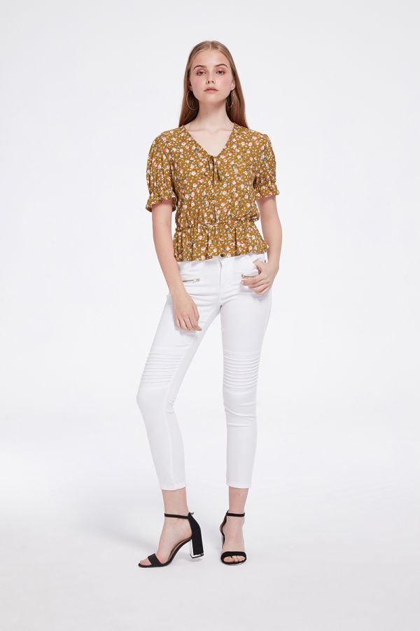 HARRY SHORT SLEEVE BLOUSE