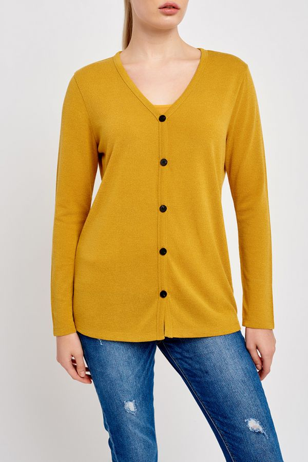 KATE BUTTON CARDIGAN