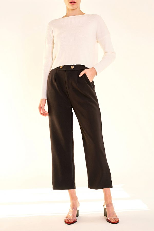EMMA CROP TROUSERS